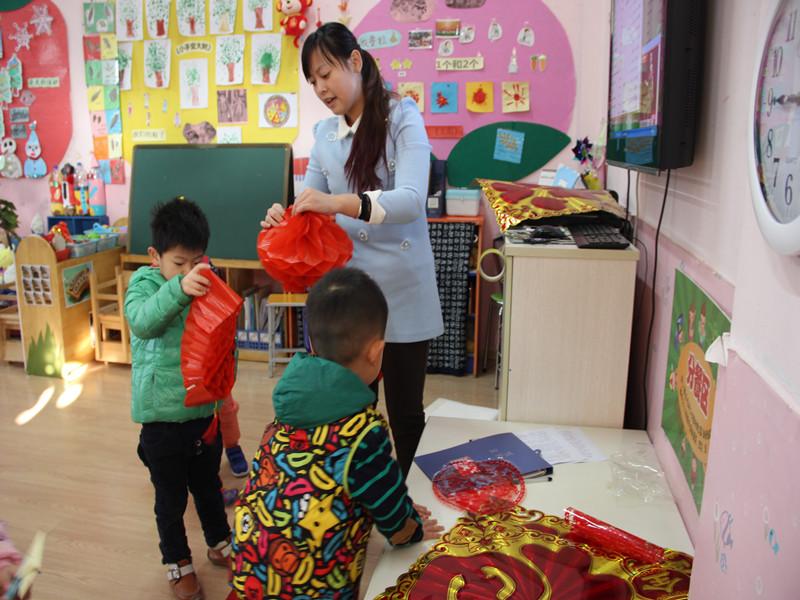 开心迎新年——天桥区幼教中心实验幼儿园